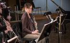 Lara Wickes performs on English horn