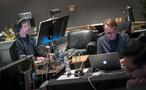 ProTools recordist Larry Mah and music editor Joe Bonn
