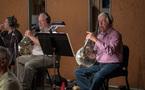 French hornists John Mason and Joe Meyer