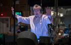 Orchestrator Nicholas Dodd conducts the score for <i>Rampage</i>