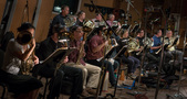 Composer Andrew Lockington used a monster-sized French horn section on his score <i>Rampage</i>