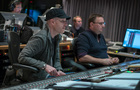 Composer Andrew Lockington and scoring mixer Andrew Dudman