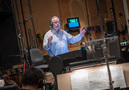 Conductor/orchestrator Nicholas Dodd conducts the Hollywood Studio Symphony on <em>Rampage</em>