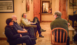 Producer Michele Reiner, director Rob Reiner, music editor Christopher Brooks and composer Jeff Beal discuss the score