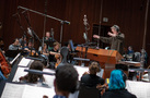 Nick Glennie-Smith conducts the Hollywood Studio Symphony on <em>Smallfoot</em>