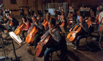 The cello section on <em>Tag</em>