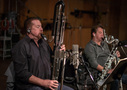 Donald Foster and Stuart Clark play woodwinds