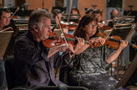 Concertmaster Bruce Dukov and ______ on violin