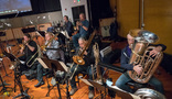 The brass section performs on <i>A Wrinkle in Time</i>