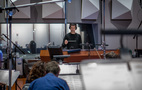 Composer/conductor Ramin Djawadi and the Hollywood Studio Symphony perform a cue