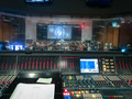 View from the mixing board during the string scoring session for <em>The Addams Family</em>