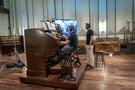Aaron Shows plays the Fox Wurlitzer organ on <em>The Addams Family</em>