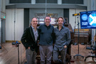 Composers Mychael and Jeff Danna with organist Aaron Shows