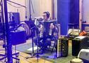 Nick Ariondo perform accordion on <em>The Addams Family</em>