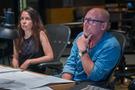 Producer Helen Kalafatic and music supervisor Brett Swain