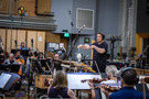 David Newman conducts his score to <em>Green Eggs and Ham</em>