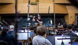 David Newman conducts on <em>Green Eggs and Ham</em>