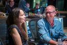Producer Helen Kalafatic chats with music supervisor Brett Swain