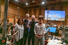 Disney music executive Kaylin Frank, director Charlie Bean, composer Joseph Trapanese, and executive producer Diane Sabatini