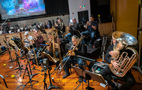 The brass section performs on <em>The Lego Movie 2: The Second Part</em>