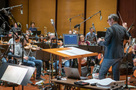 The Hollywood Studio Symphony performs a cue with conductor/lead orchestrator Tim Davies