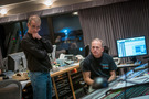 Orchestrator Andrew Kinney and scoring mixer Jeff Vaughn