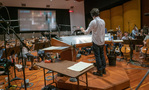 Composer Jeff Russo conducts the Hollywood Studio Symphony