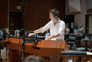 Composer Jeff Russo performs with the Hollywood Studio Symphony