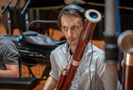 Jon Stehney performs on bassoon