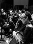 The cellos and violas