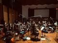 The violin section on <em>Days of Our Lives</em>