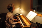 Cynthia Millar playing the ondes Martenot