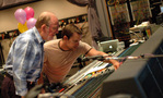 Scoring mixer Armin Steiner and stage recordist Adam Michalak