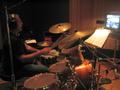 Steve Schaeffer plays drum kit on an episode of Family Guy