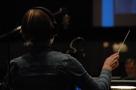 "Jennifer Hammond conducts Part 1 of the ""Alias"" finale"