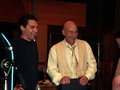 Bryan Singer and Patrick Stewart