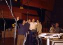 John Ottman, Bryan Singer, Patrick Stewart, and Damon Intrabartolo