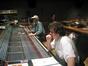 Score mixer Dan Wallin and Michael Giacchino