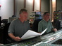 Composer John Debney and score mixer Shawn Murphy