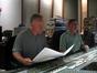 Composer John Debney and score mixer Shawn Murphy