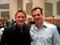 Brian Tyler with director Bill Paxton