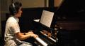 Brian Kim plays piano