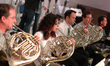 Teag Reeves, Danielle Ondarza, Justin Hageman, Brian O'Connor on French horn; Ross DeRoche on tuba
