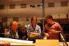 Cellist Tony Cooke, James Horner and Steve Zaillian