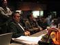 Music Editor Chuck Martin, editor Myron Kerstein, and ProTools Engineer Noah Snyder