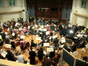Pete Anthony and the orchestra at AIR Studios