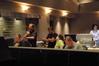 Orchestrator Conrad Pope, Contractor Peter Rotter, Director Emilio Estevez, Composer Mark Isham, and Score Mixer Shawn Murphy
