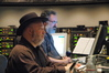 Music editor Joe E. Rand and ProTools Engineer Robert Wolff