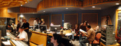 The control room at Todd-AO