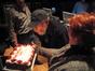 Score mixer Dan Wallin celebrates his 79th birthday during the mix at Paramount